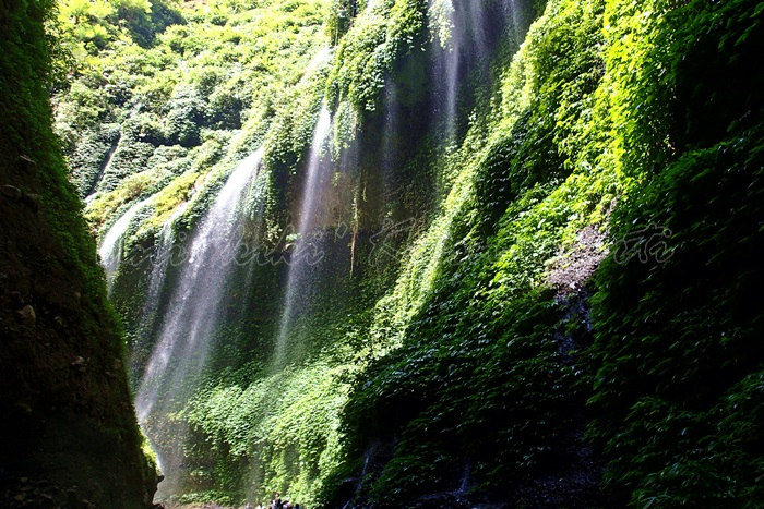 east java- waterfalls